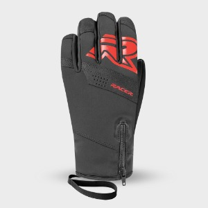 [18/19] GENESIS GLOVES BLACK/RED