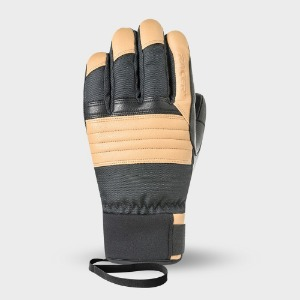 [18/19] MOUNTAINEER GLOVES BLACK/BROWN