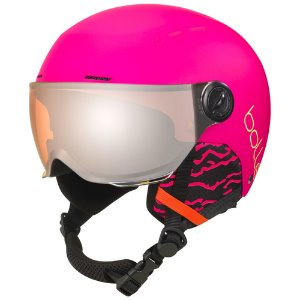 [20/21] QUIZ 어린이 VISOR MATTE HOT PINK WITH ORANGE GUN VISOR (CAT,2)