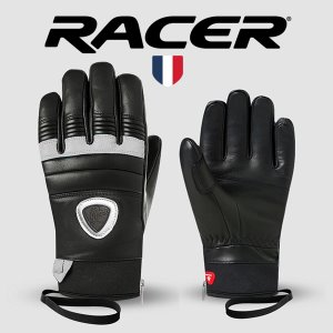 [19/20] 90 LEATHER F GLOVES BLACK/WHITE(여성용)